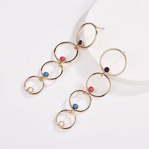 Baublebar Lucienne Multi-Hoop Drop Earrings